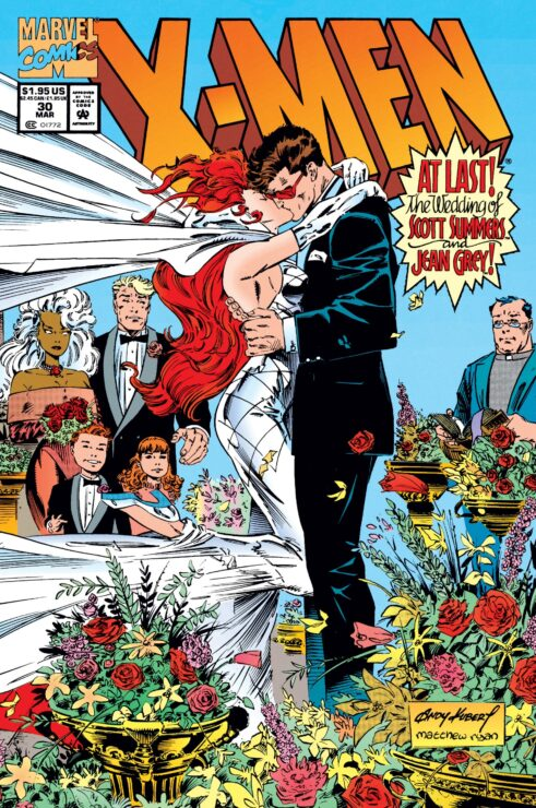 Scott Summers and Jean Grey Get Married