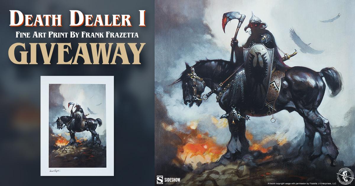 Death Dealer I Fine Art Print Giveaway