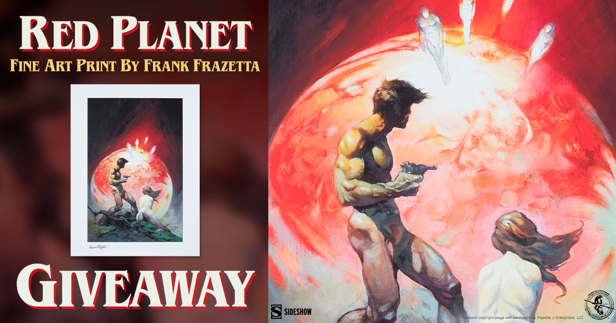 Red Planet Fine Art Print Giveaway