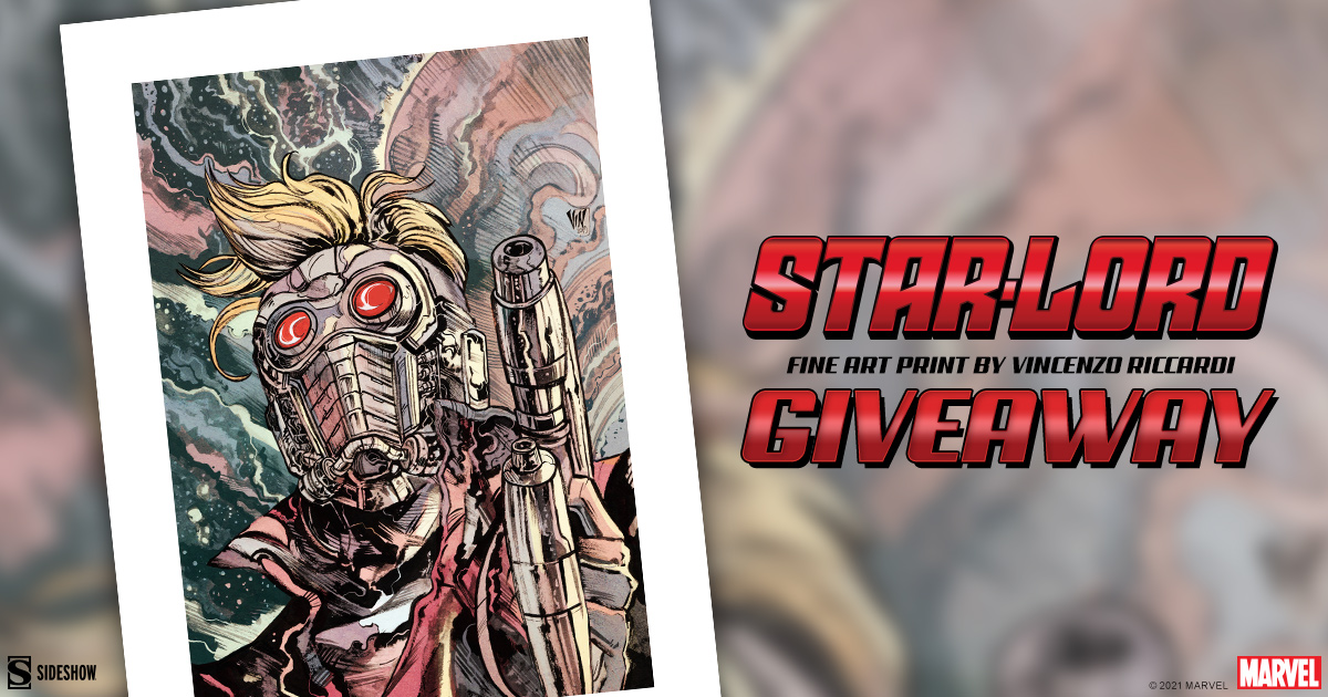 Star-Lord Fine Art Print Giveaway