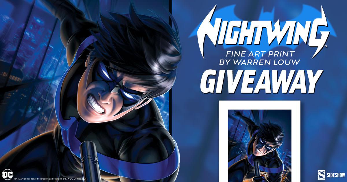 Nightwing Fine Art Print Giveaway