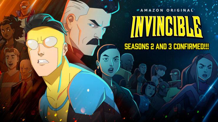 Invincible Season 2 and 3 Confirmed!