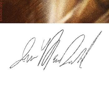 Batgirl The Last Joke Fine Art Print by Artist Ian MacDonald Signature