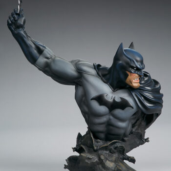 full right side view of Batman Bust