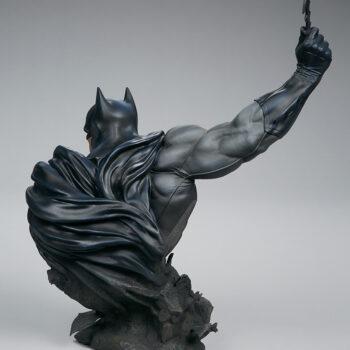 back side of Batman Bust