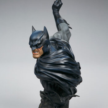 right side quarter view of Batman Bust