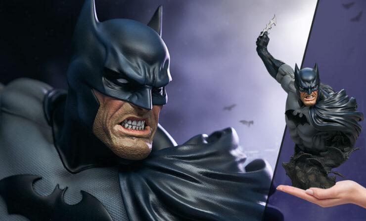 Final Production Photos of the Batman Bust