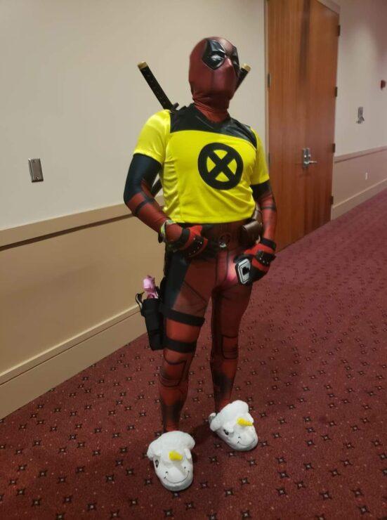 BenJamin Edwin Bracero Deadpool cosplay