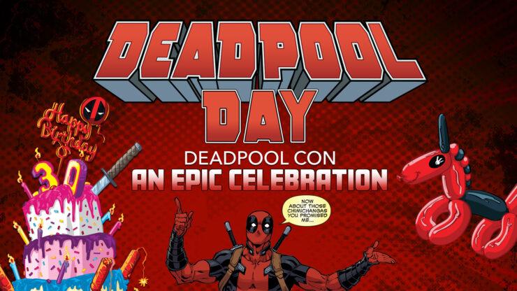 Deadpool Con Deadpool Day Booth Tour