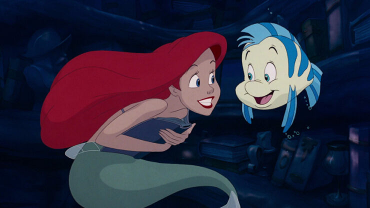 The Little Mermaid- Flounder the Fish