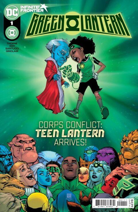 GREEN LANTERN #1 (DC Comics)