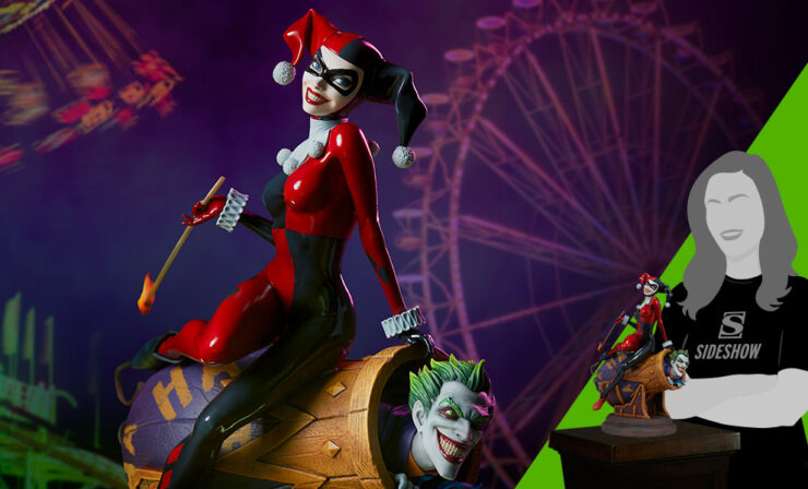 Harley Quinn and The Joker Diorama