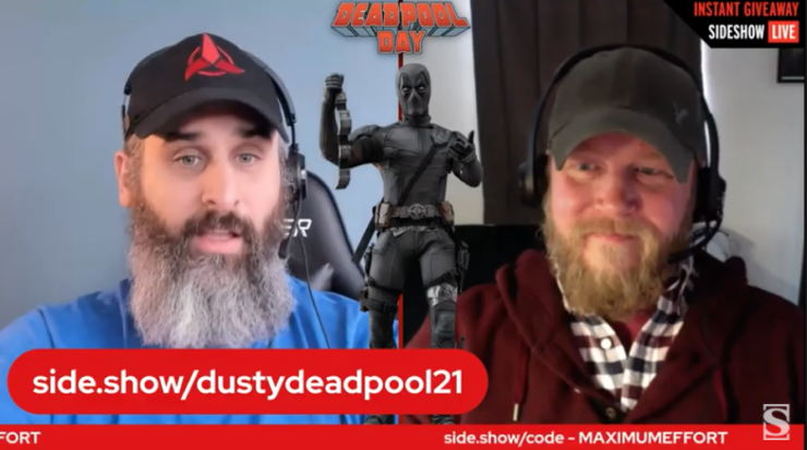 Alex and Rob give away the Deadpool 1:6 by Hot Toys