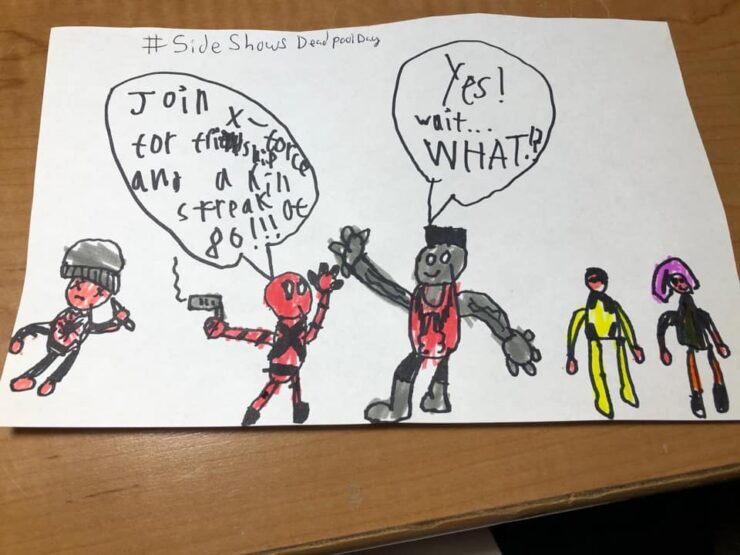 Justin Wirtjes Deadpool Help Wanted Ad