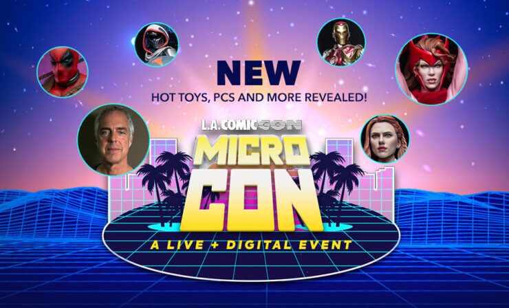 Sideshow's Micro Con 3D Interactive Booth Tour