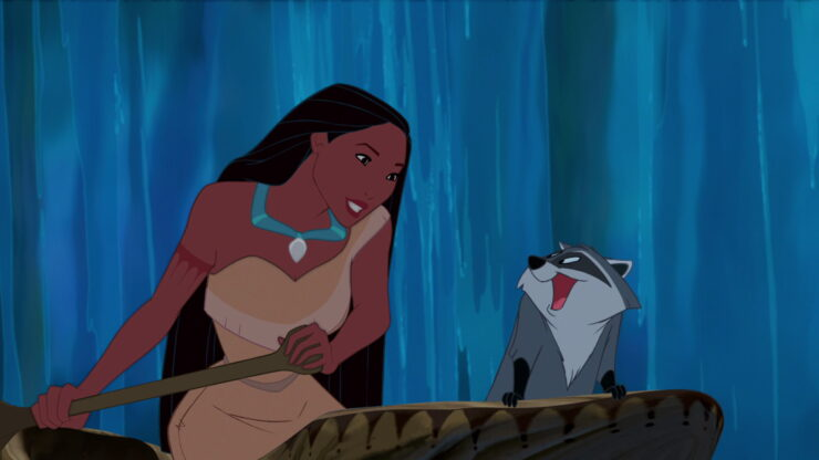 Pocahontas- Meeko the Raccoon