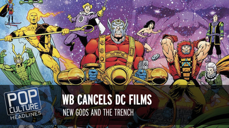 Pop Culture Headlines – DC Cancellations