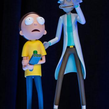 Rick & Morty Sixth Scale Figure Set