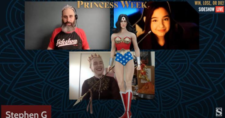 Princess Week 2021 Win Lose Die Sideshow Giveaway
