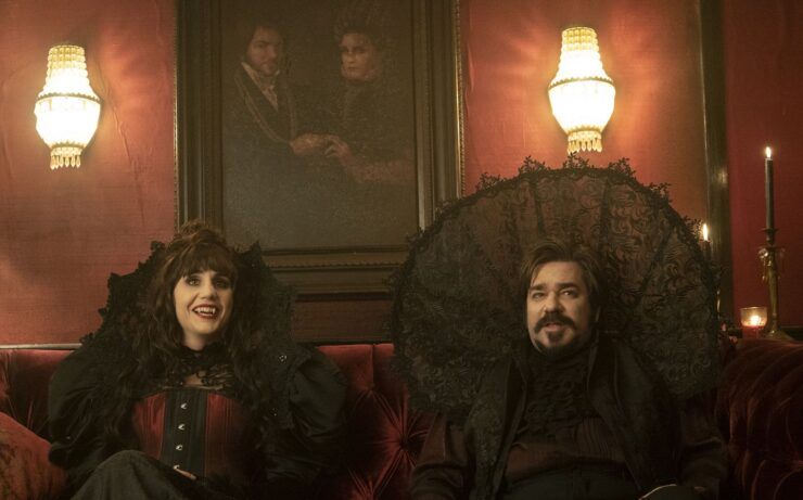 Nadja and Laszlo- What We Do in the Shadows