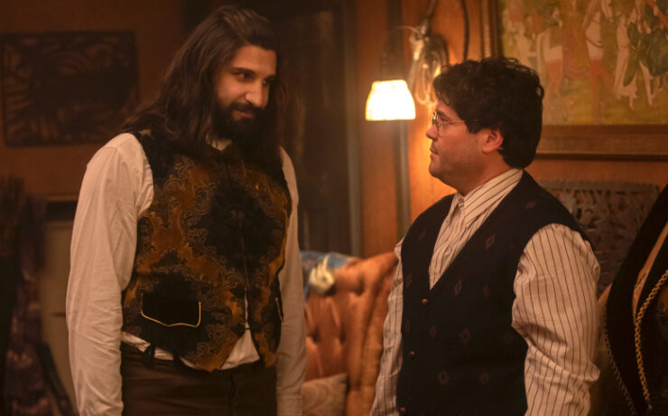 Nandor and Guillermo- What We Do in the Shadows