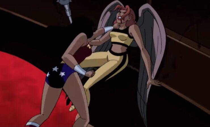 Wonder Woman vs. Hawkgirl – Princess Battle