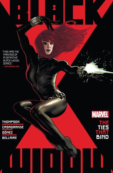 Black Widow Vol. 1- The Ties that Bind (Marvel Comics)
