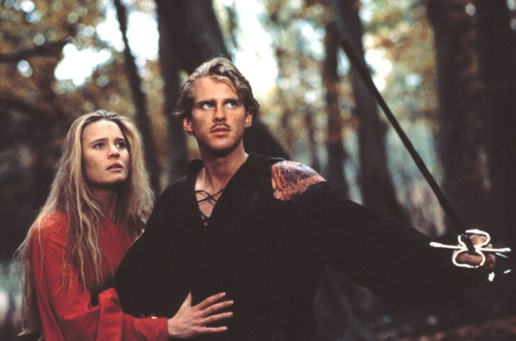 Buttercup and Westley, The Princess Bride