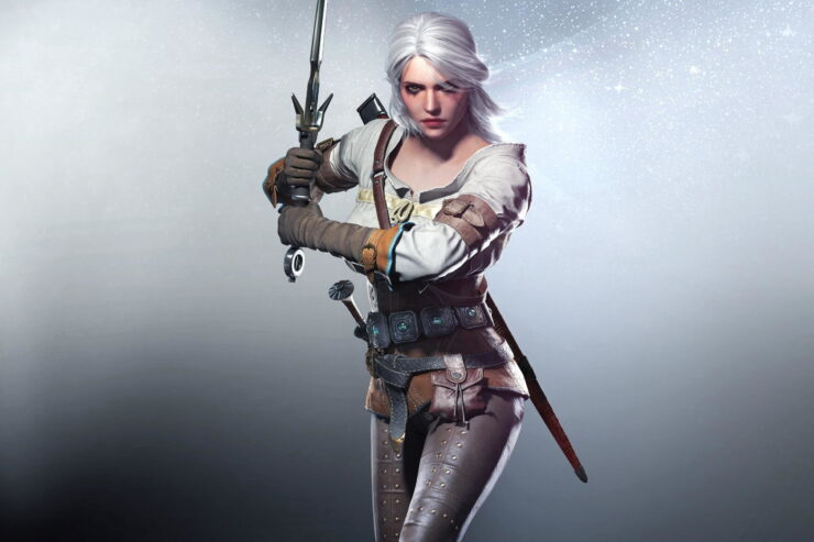 Ciri in CD Projekt Red's The Witcher 3 Wild Hunt
