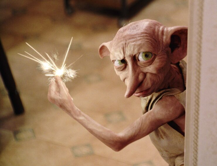 Dobby in Chamber of Secrets