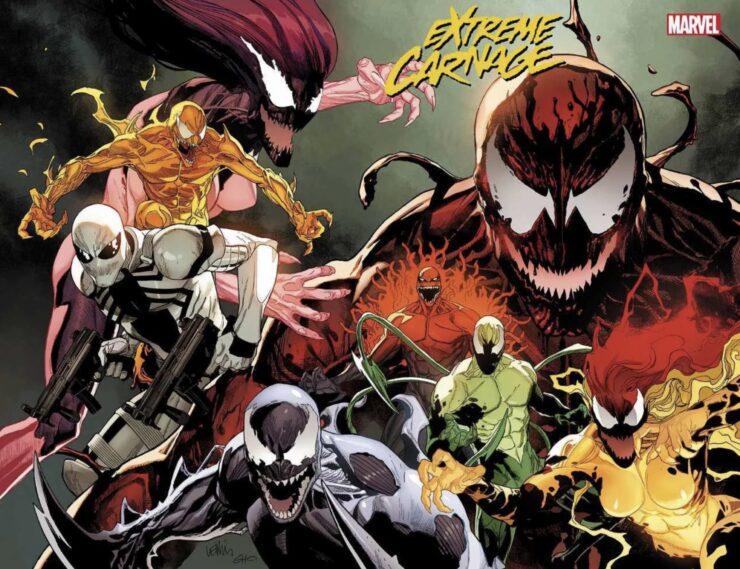 Marvel: Extreme Carnage Teaser Art