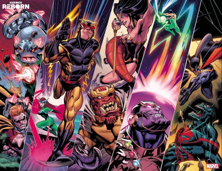 Marvel: Heroes Reborn Teaser Art