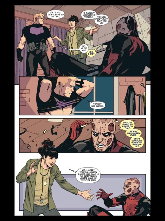 Kate Bishop Meets Deadpool