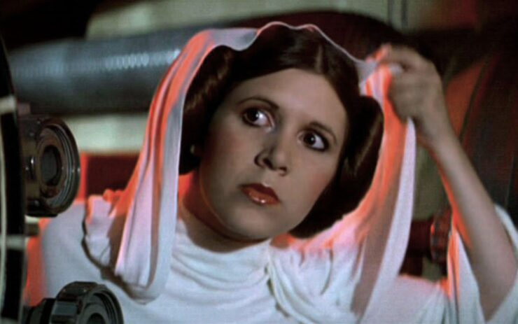 Leia in Star Wars A New Hope