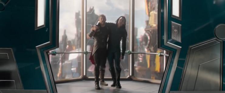 Thor and Loki Get Help Thor Ragnarok
