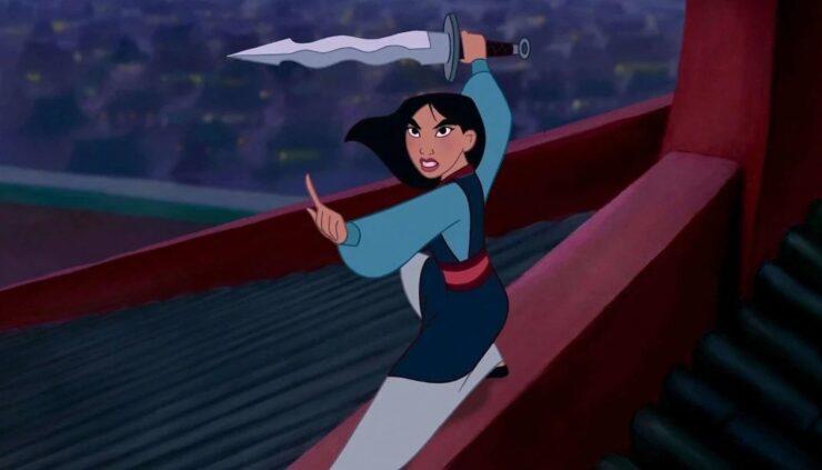 Hua Mulan in Disney's Mulan
