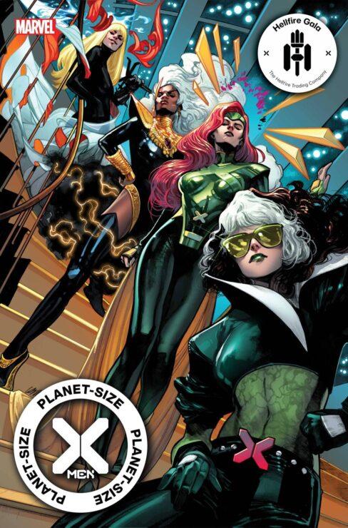 Planet-Size X-Men Cover: Hellfire Gala
