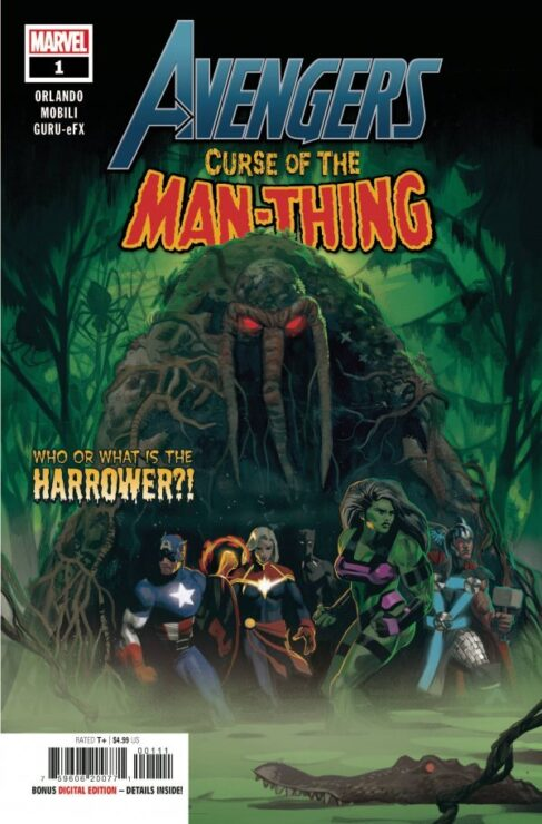 AVENGERS: CURSE OF THE MAN-THING #1 (MARVEL COMICS)