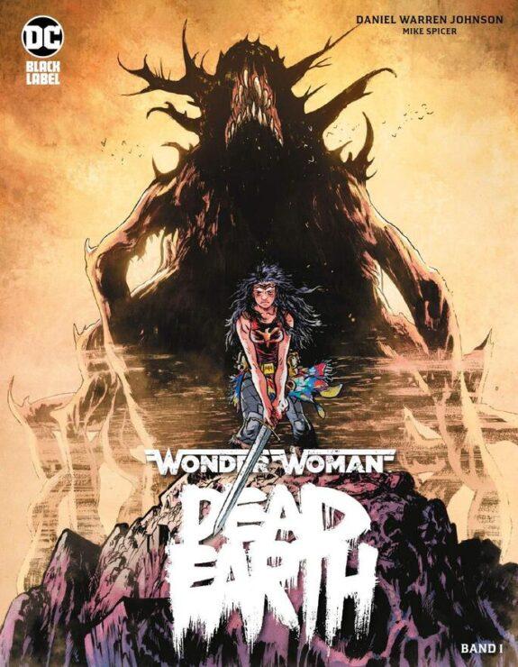 Wonder Woman Dead Earth Vol. 1- DC Comics Black Label