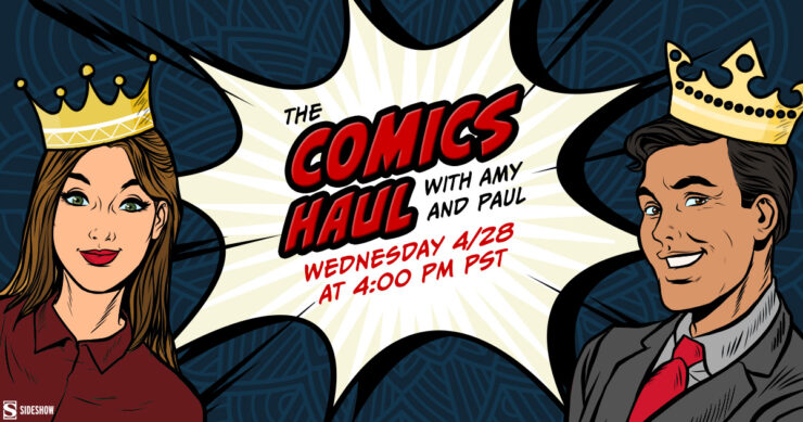 Best Comic Book Princesses- The Comics Haul with Amy and Paul Princess Week Edition
