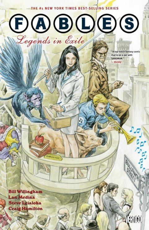 Fables Vol. 1- Vertigo Comics
