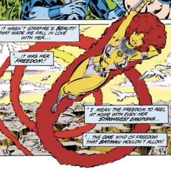 Starfire- Secret Origins #13 (DC Comics)