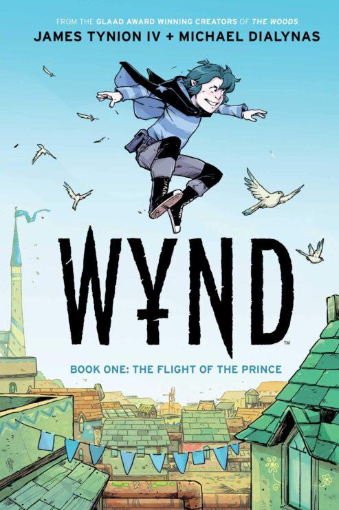 Wynd Vol. 1- Flight of the Prince (Boom Studios)