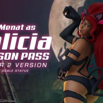 Menat as Felicia Season Pass Player 2 Version 1:4 Scale Statue – PCS