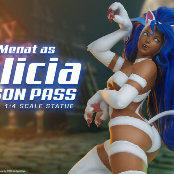 Menat as Felicia Season Pass 1:4 Scale Statue – PCS
