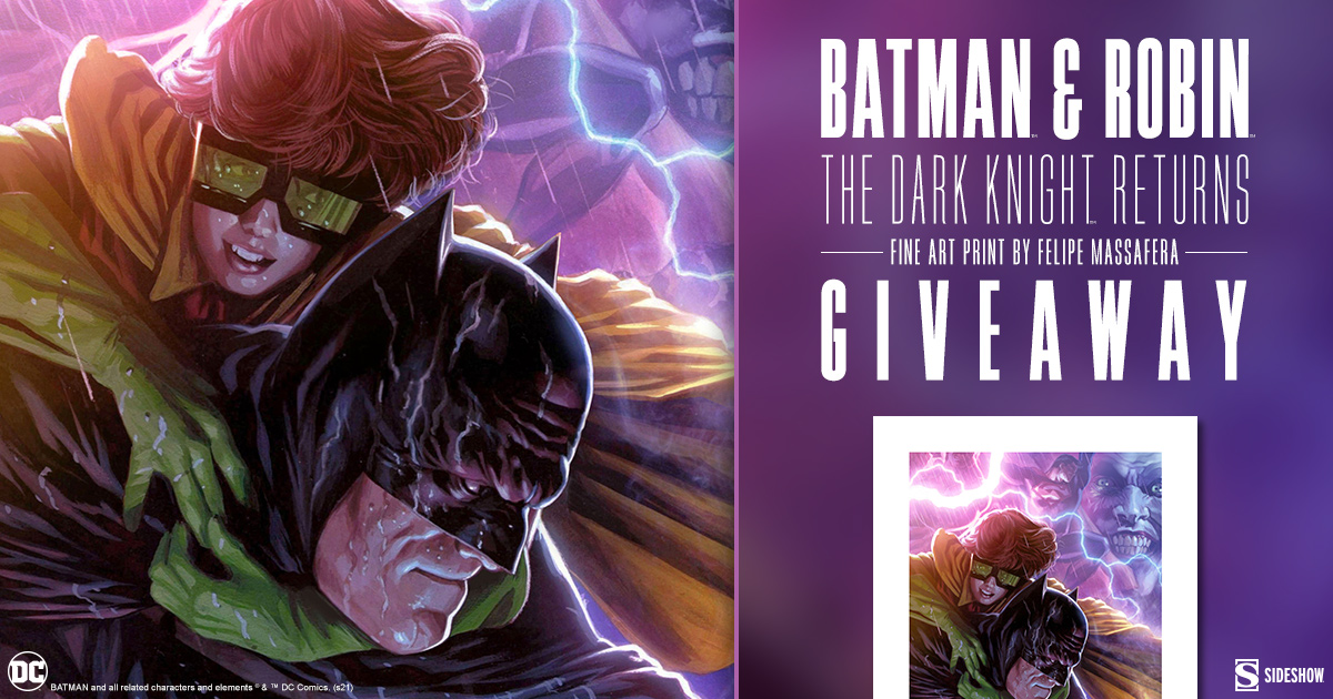 Batman and Robin: The Dark Knight Returns Fine Art Print Giveaway
