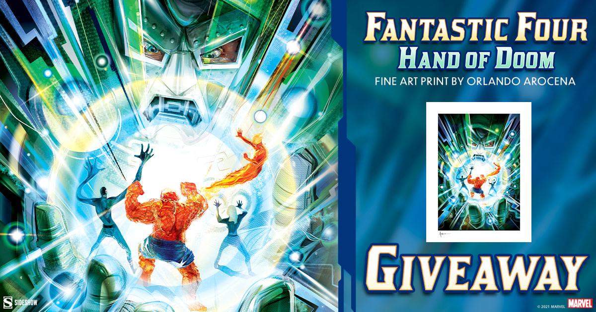 Fantastic Four: Hand of Doom Fine Art Print Giveaway