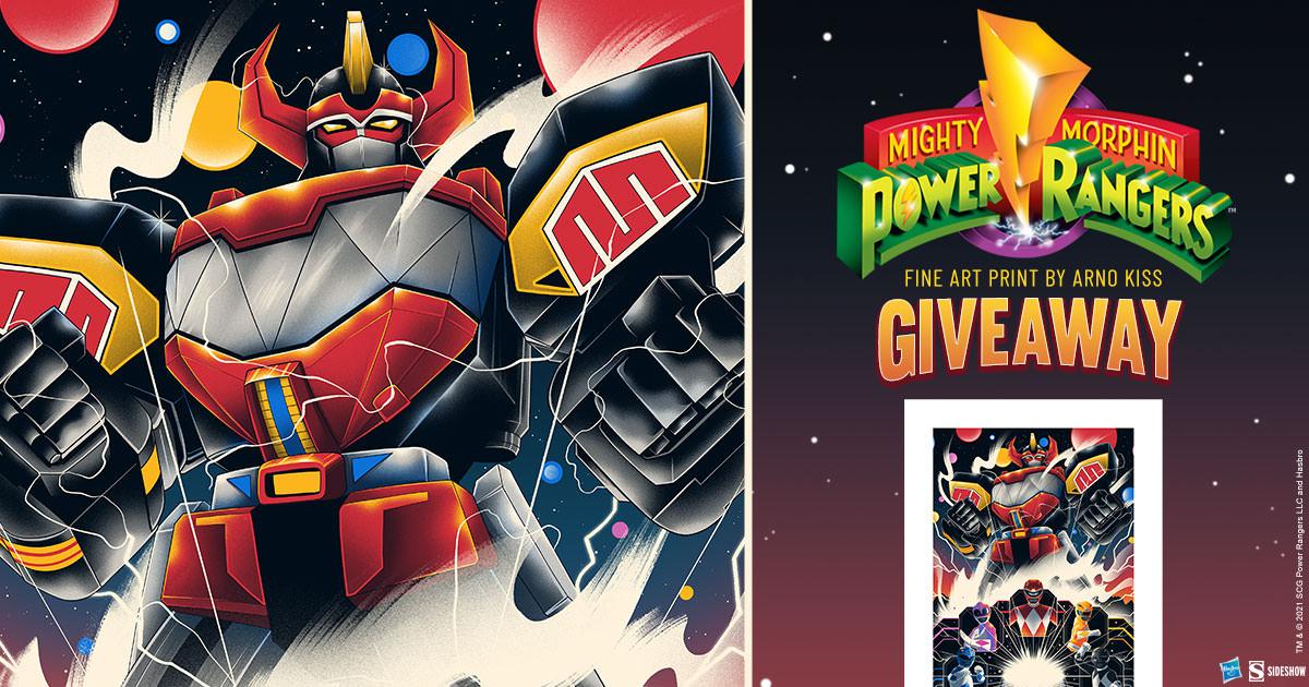 Mighty Morphin Power Rangers! Fine Art Print Giveaway