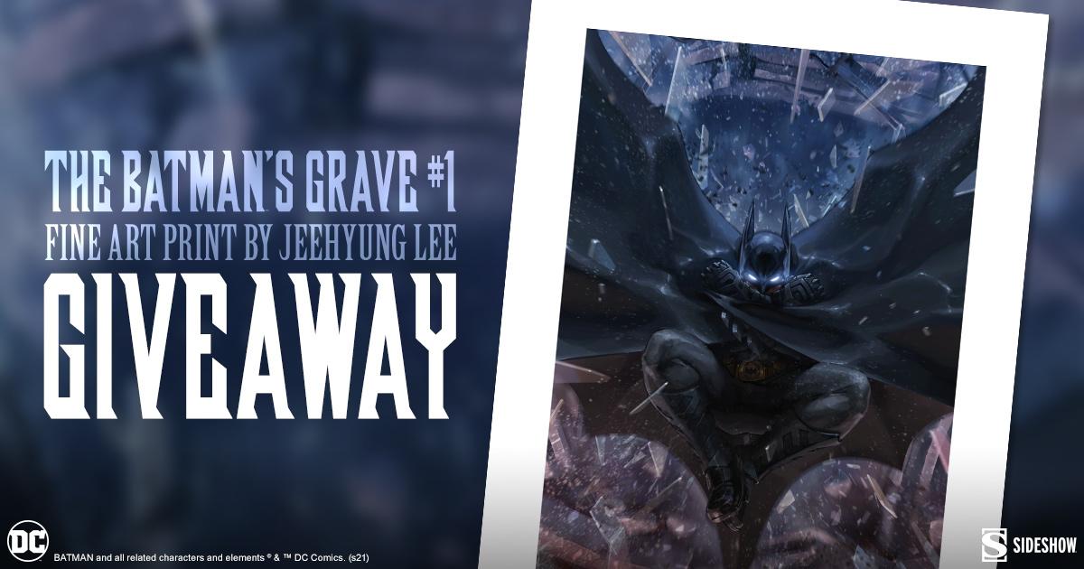 The Batman's Grave #1 Fine Art Print Giveaway