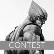 Wolverine Black and White Variant Fine Art Print Giveaway
